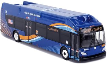New Flyer Xcelsior Bus Model, New York City - Daron NY2050 - click to enlarge