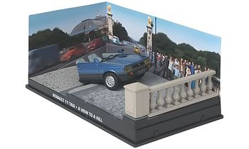 Renault 11 Half-Taxi Model, James Bond: A View to a Kill - Eaglemoss - click to enlarge