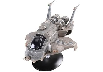 Battlestar Galactica Raptor (2004) Diecast Model - Eaglemoss - click to enlarge