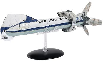 Battlestar Galactica Colonial One Diecast Model - Eaglemoss - click to enlarge