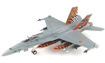 EF-18A Hornet Model, Spanish Air Force - Hobby Master HA3551 - click to enlarge