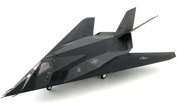 F-117 Nighthawk Model, USAF, 412th Test Wing - Hobby Master HA5807 - click to enlarge