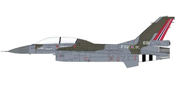 F-16BM Fighting Falcon Model, Norway - Hobby Master HA3898 - click to enlarge