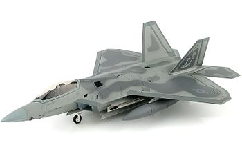 F-22 Raptor Model, USAF, 95th FS, 325th FW - Hobby Master HA2819 - click to enlarge