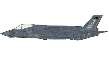 F-35A Lightning II Model Vermont ANG - Hobby Master HA4421 - click to enlarge
