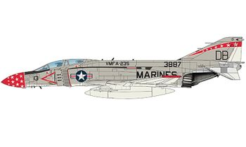 F-4J Phantom II Model, VMFA-235 - Hobby Master HA19024 - click to enlarge