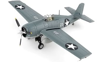 F4F-4 Wildcat Model, U.S. Navy, John Thach - Hobby Master HA8902 - click to enlarge