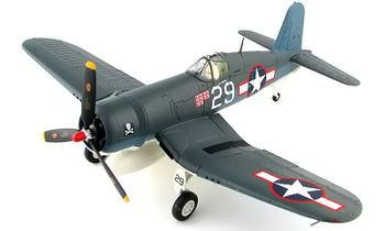 F4U Corsair Model, USN, Ira Kepford - Hobby Master HA8219 - click to enlarge