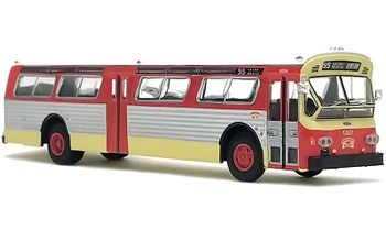Flxible 53102 Bus Model: San Francisco - Iconic Replicas 87-0262 - click to enlarge