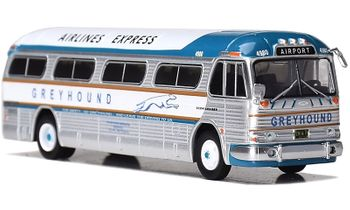 GM PD-4104 Coach: Greyhound, Airlines Express - Iconic Replicas 87-0207 - click to enlarge