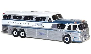 GMC PD-4501 Greyhound Scenicruiser, Pittsburgh - Corgi US54405 - click to enlarge
