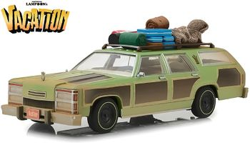 National Lampoon's Vacation Family Truckster w/Edna 1:18 GreenLight - click to enlarge
