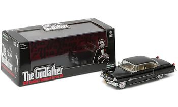 The Godfather 1955 Cadillac 1:43 Diecast Model - GreenLight - click to enlarge