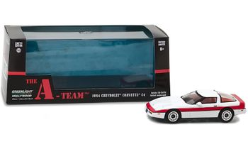 The A-Team 1984 Corvette 1:43 Diecast Model - GreenLight - click to enlarge