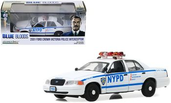 Blue Bloods 2001 Crown Victoria Police Car 1:43 - GreenLight - click to enlarge