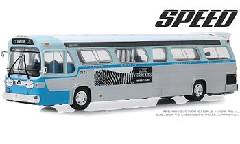 SPEED 1960s GM New Look Bus Diecast Model - GreenLight 86544 - click to enlarge