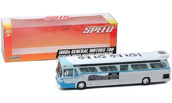 SPEED 1960s GM New Look Bus Model - GreenLight 86544 - click to enlarge