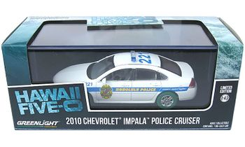Hawaii Five-0 2010 Impala Police Cruiser (Chase) - GreenLight - click to enlarge