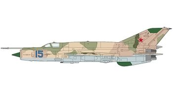 """MiG-21MT """"Fishbed"""" Model, Soviet Air Force - Hobby Master HA0194 - click to enlarge"""