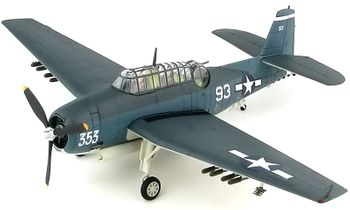 TBF Avenger Model, U.S. Navy, VT-15 - Hobby Master HA1222 - click to enlarge