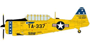 T-6G Texan Model, USAF, 75th FIS - Hobby Master HA1527 - click to enlarge