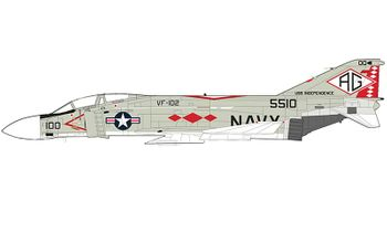 F-4J Phantom II Model, U.S. Navy, VF-102 - Hobby Master HA19006 - click to enlarge