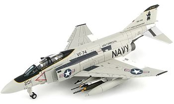 F-4J Phantom II Model, U.S. Navy, VF-74 - Hobby Master HA19008 - click to enlarge
