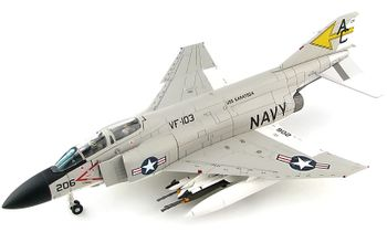 F-4J Phantom II Model, USN, VF-103 - Hobby Master HA19015 - click to enlarge