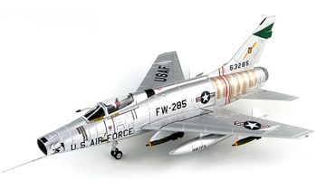 F-100D Super Sabre Model, 481st TFS - Hobby Master HA2122 - click to enlarge