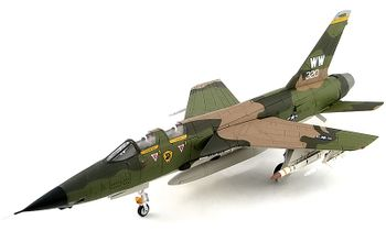 "F-105G Thunderchief ""Wild Weasel"" - Hobby Master HA2550 - click to enlarge"