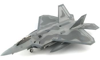 F-22 Raptor Model, USAF, 43rd FS - Hobby Master HA2820 - click to enlarge