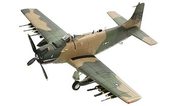 A-1H Skyraider Model, USAF 22nd SOS - Hobby Master HA2914 - click to enlarge