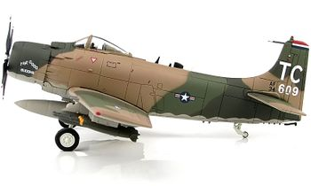 A-1H Skyraider Model, USAF, 1st SOS - Hobby Master HA2915 - click to enlarge