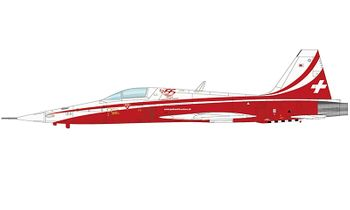 F-5E Tiger II Model, Patrouille Suisse, 2019 - Hobby Master HA3335 - click to enlarge