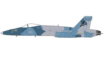 F/A-18A Hornet Model, U.S. Navy, NSAWC - Hobby Master HA3544 - click to enlarge