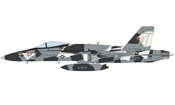 F/A-18A+ Hornet Model, USN, VFC-12 - Hobby Master HA3553 - click to enlarge
