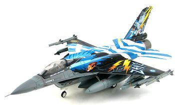 F-16C Fighting Falcon Model, Hellenic Air Force - Hobby Master HA3877 - click to enlarge