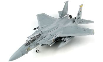 F-15C Eagle Model, USAF, 27th TFS - Hobby Master HA4516 - click to enlarge