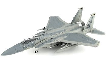 F-15C Eagle Model, USAF, 493rd FS - Hobby Master HA4560 - click to enlarge