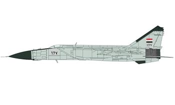 MiG-25PD Foxbat Model, Syrian AAF - Hobby Master HA5605 - click to enlarge