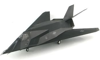 F-117 Nighthawk Model, USAF, 7th FS - Hobby Master HA5805 - click to enlarge