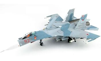 Su-27 Flanker-B Model, Russian Navy, 2017 - Hobby Master HA6006 - click to enlarge