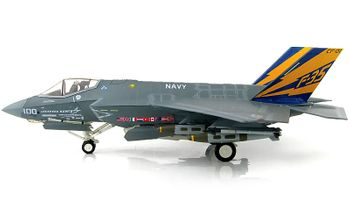 F-35C Lightning II Model, USN, CF-01 - Hobby Master HA6202 - click to enlarge