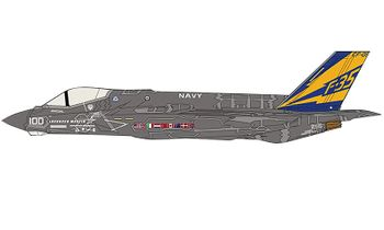 F-35C Lightning II Model, U.S. Navy, CF-01 - Hobby Master HA6202 - click to enlarge