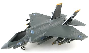"F-35C Lightning II Model, USN ""Pole Test"" - Hobby Master HA6203 - click to enlarge"