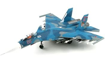 Su-33 Flanker-D Model, Russian Navy - Hobby Master HA6404 - click to enlarge