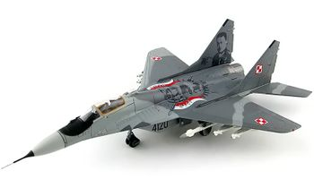 MiG-29A Model, Polish Air Force - Hobby Master HA6502 - click to enlarge