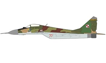 MiG-29A Fulcrum Model, Polish Air Force - Hobby Master HA6512 - click to enlarge