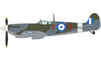 Spitfire Mk.IX Model, Hellenic Air Force, 2020 - Hobby Master HA8322 - click to enlarge