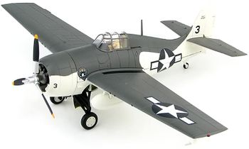 F4F-4 Wildcat Model, U.S. Navy, VC-12 - Hobby Master HA8903 - click to enlarge
